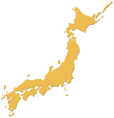 日本全国地図イメージ