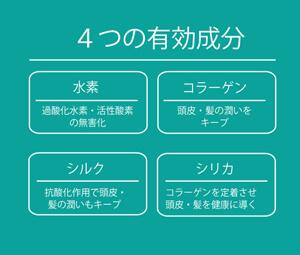 4つの有効成分